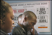 Getting a Zambian Number Plate