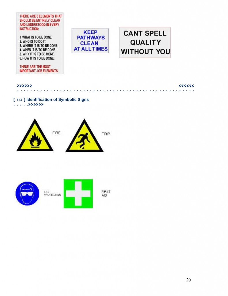 Neon Safety Sign Catalogue – Neon